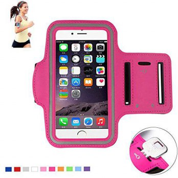 [holiczone] MaxMall 2/3/4 MaxMall Universal Sport Armband Fit for Apple iPhone 6 Plus, Sam/116310