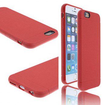 [holiczone] Waterwood Water & Wood Ultra Thin Matte TPU Red case Cover for Apple Iphone 6/116544
