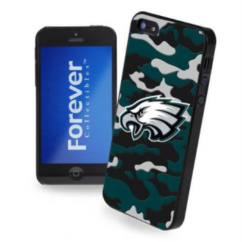 [holiczone] Forever Collectibles Philadelphia Eagles Camouflage Hard Snap-On Apple iPhone /122808