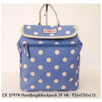 Tas Ransel Cath Kidston Handbag and Backpack 3 in 1 3797 - 7