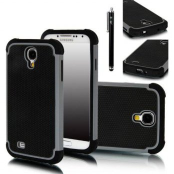 [holiczone] Galaxy S4 Case, E LV Galaxy S4 Case - Hybrid Dual Layer Armor Defender Protect/125418