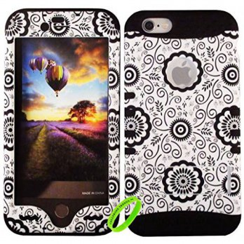 [holiczone] Cellphone Trendz HARD & SOFT RUBBER HYBRID ROCKER HIGH IMPACT PROTECTIVE CASE /135910