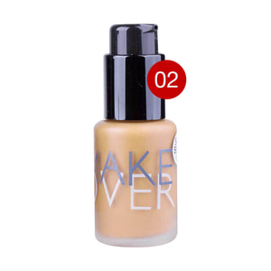 MAKE OER ULTRA COVER LIQUID FOUNDATION 02 PINK SHADE 33ML