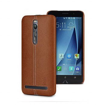[holiczone] Kingbig Holster Phone Case Back Cover for ASUS Zenfone2 ZE551ML ZE550ML (Brown/128426