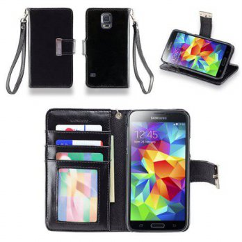[holiczone] IZENGATE Samsung Galaxy S5 Executive Premium PU Leather Wallet Flip Case Cover/133103