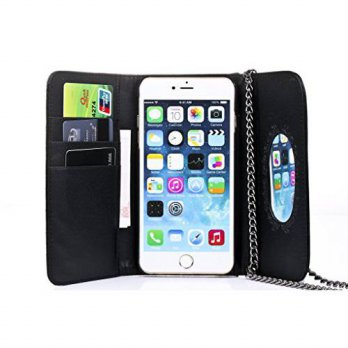 [holiczone] iPhone 6 Case, Bosam Luxury PU Leather Cross-body Design Girls Purse Cell Phon/134273