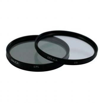 [holiczone] Dolica CF-K62 62mm UV and CPL Filter Kit/135175