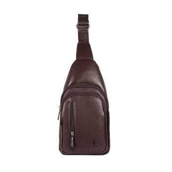 Polo Classic Chest Bag 525-19 Coffee