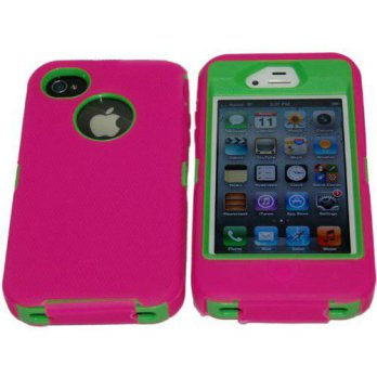 [holiczone] Lucky Iphone 4 4S Body Armor Defender - Comparable to Otterbox Defender + 1pc /165795