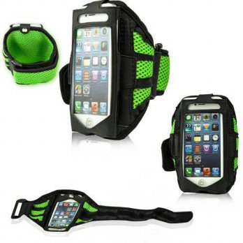[holiczone] Fulland Mesh Sport Armband Case Cover Gym Running Strap for Apple iPhone 4 4s /144170