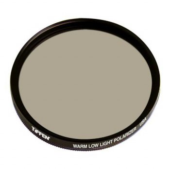[holiczone] Tiffen 37WLLPOL 37mm Warm Low Light Polarizer Filter/170524