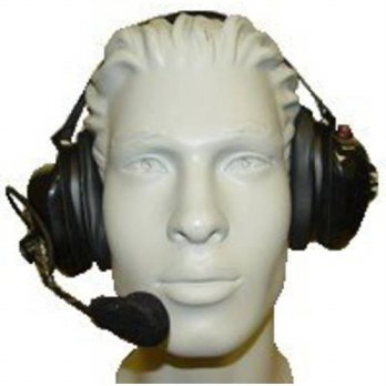 [holiczone] RadioBoss Titan Noise Reduction Headset with K-Cable - Motorola 2-Pin Connecto/172414
