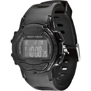 [holiczone] Freestyle Mens FS84994 Predator Round Running Digital Top Buttons Watch/173299