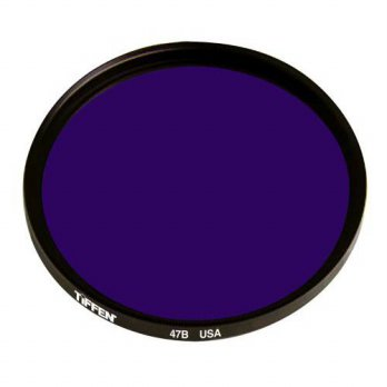 [holiczone] Tiffen 5547B 55mm 47B Filter (Blue)/178664