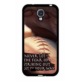 [holiczone] Baseball Quote TPU RUBBER SILICONE Phone Case Back Cover Samsung Galaxy S4 I95/182241