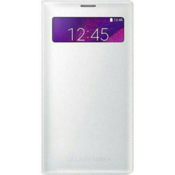 SAMSUNG S VIEW WALLET COVER For GALAXY NOTE 4 100% Original - White