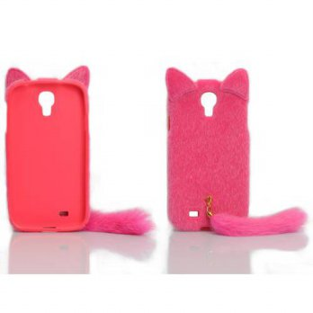 [holiczone] LliVEER Cases Kingdom 3D Cute Fluffy Tail Cat TPU Case Cover Skin for Samsung /185231
