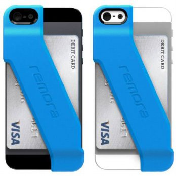 [holiczone] Outpost Labs Remora Wallet Case for iPhone 5/5s/SE (Electric Blue)/193069