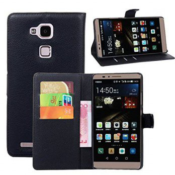[holiczone] Huawei Ascend Mate 7 Case - Demomm(tm) Flip Pu Leather Wallet Case Holder Cove/193000