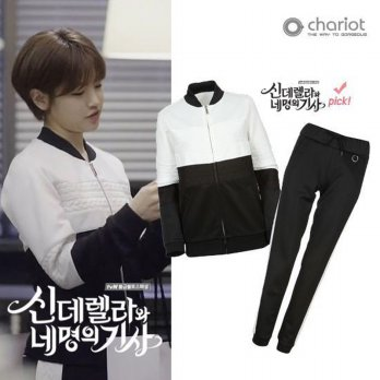 [Chariot] Sinegi Park So Dam Luxury Training Suit