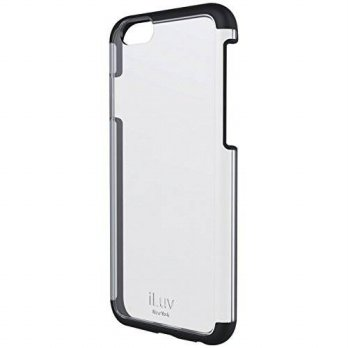 [holiczone] ILuv iLuv Vyneer Case for iPhone 6 4.7-Inch - Retail Packaging - Black/198582