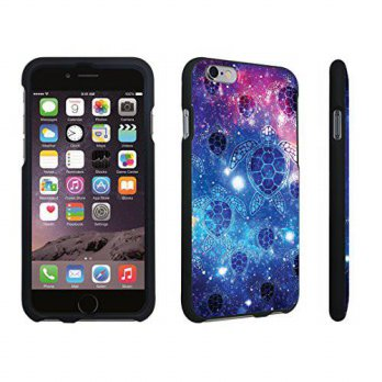 [holiczone] DuroCase Apple iPhone 6 - 4.7 inch Hard Case Black - (Sea Turtle Space)/199771