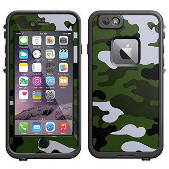 [holiczone] TrekSkins Skin Decal for LifeProof Apple iPhone 6 Case - Camouflage Green Whit/200239
