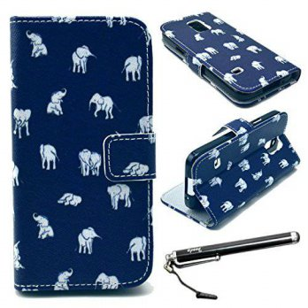 [holiczone] UrSpeedtekLive S5 Mini Case, Galaxy S5 Mini Case, Speedtek Elephant Pattern Pr/200641