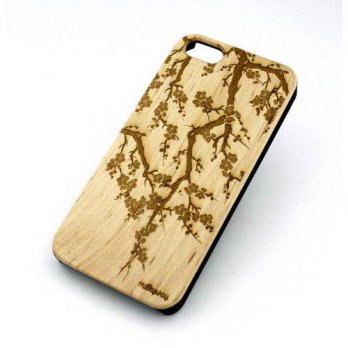 [holiczone] Milkyway Body Jewelry Genuine Wood Case Snap On Cover for Apple IPHONE 6 (4.7)/200789