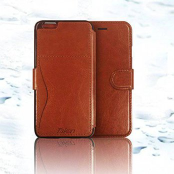 [holiczone] Taken Iphone 6 Wallet Case - Iphone 6s Case Pu Leather - Card Slot - Ultra Sli/206522
