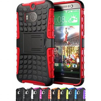 [holiczone] Cineyo ShopNY CASE - HTC One M8 Case-Heavy Duty Rugged Dual Layer Holster Case/203781