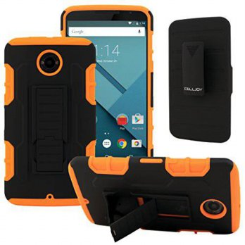 [holiczone] Nexus 6 Case, CellJoy [Future Armor] Motorola Nexus 6 Case Hybrid Ultra Fit Du/208627