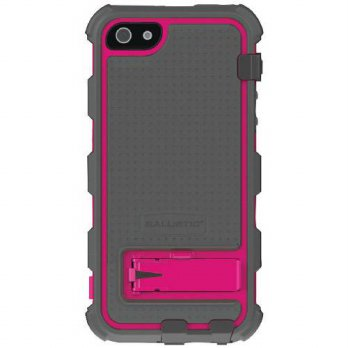 [holiczone] Ballistic HC0956-M115 V6 HC Series Case with Holster for iPhone 5, Charcoal TP/223102