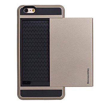[holiczone] iPhone 6 Case, ImpactStrong [Wallet Slider] - [Card Case] [Protection] [Heavy /218771
