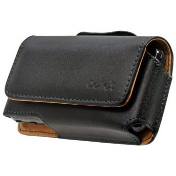 [holiczone] Cellet Horizontal Noble Case with Removable Spring Belt Clip for Samsung Omnia/223537