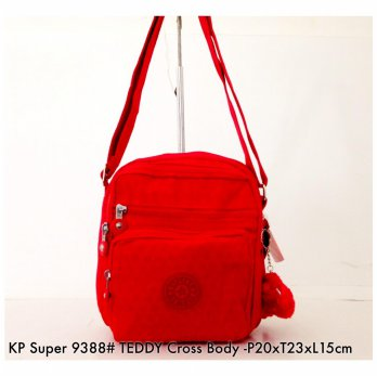Tas Selempang Import Wanita Fashion Teddy Crossbody 9388 - 11