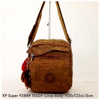 Tas Selempang Import Wanita Fashion Teddy Crossbody 9388 - 13