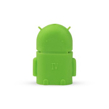 OTG USB ADAPTER ANDROID GREEN