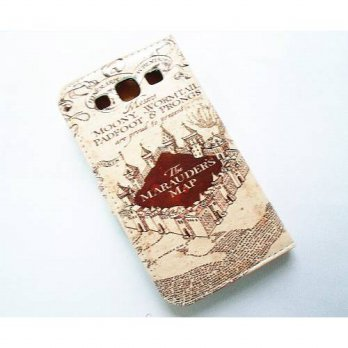 [holiczone] SunshineCase Hogwarts Marauders Map Pattern Slim Wallet Card Flip Stand Leathe/245143