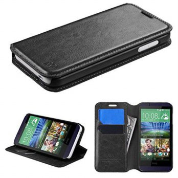 [holiczone] MyBat HTC 510 Desire 510 MyJacket Wallet with Tray - Retail Packaging - Black/245949