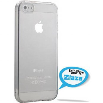 [holiczone] iPhone 5S/SE Case, Laza iPhone 5S/SE [Slim Jelly] [Crystal Clear] Gloss Case F/247535