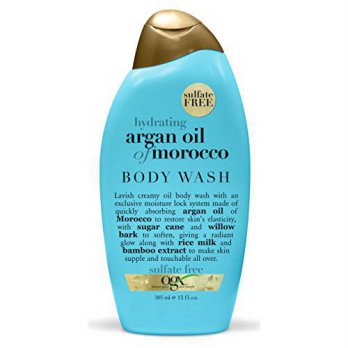 [holiczone] (OGX) Organix Body Wash Moroccan Argan Oil 13oz (Hydrating)/263560