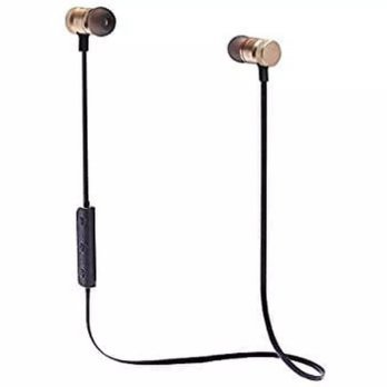 Headset Wireless Sport Magnetic JBL R-S01 Earphone Handsfree Super Bas