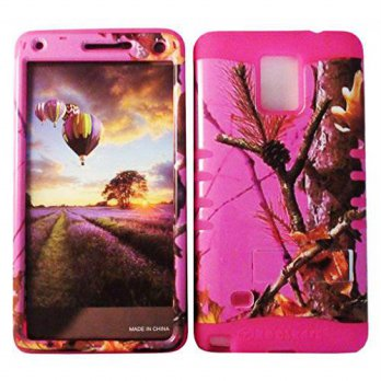 [holiczone] Cellphone Trendz HARD & SOFT RUBBER HYBRID ROCKER HIGH IMPACT PROTECTIVE CASE /250961