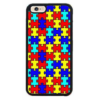 [holiczone] MYPHONE DESIGNS Autism Puzzle Pieces TPU Rubber Silicone Phone Case Back Cover/202501