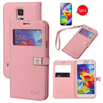 [holiczone] AILUN Galaxy S5 Case,[2PCS HD Screen Protectors],By Ailun,Samsung Galaxy i9600/213785