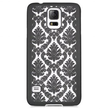 [holiczone] Ai-case AI-case Samsung Galaxy S5 case Rubber Damask Pattern Slim Ultra Thin H/220103