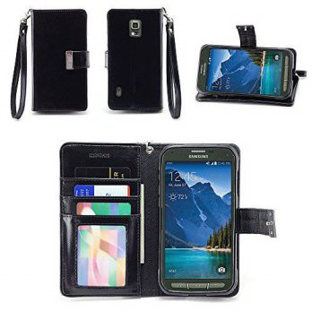 [holiczone] IZENGATE Samsung Galaxy S5 ACTIVE (SM-G870A) Wallet Case - Executive Premium P/221806