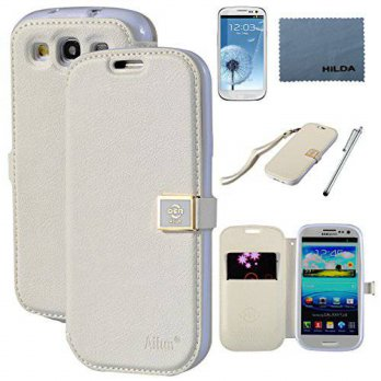 [holiczone] AILUN Galaxy S3 Case,By Ailun,Wallet Case,PU Leather Case, Credit Card Holder,/221322