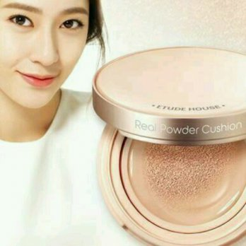 etude house real powder cushion ( natural beige )